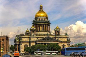 Saint Isaac's Cathedral by xplodr