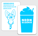 2014 Business Card by NeonSlushie
