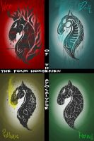 The Four Horses of the Apocalypse by TheAlzaran91