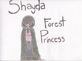 Forest Princess by Gir-of-Spades