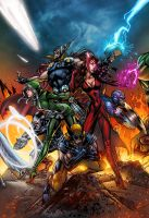 Uncanny Avengers!! by tas1138
