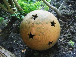 Star Ball Ornament by Jussetta-Stock