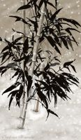 Bamboo in Snow by slshimerdla
