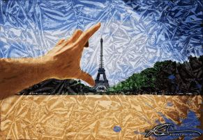 Paris Effel Tower Summer time by ruv