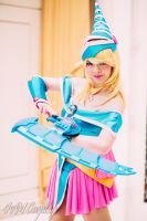 Dark Magician Girl: Duelist by 4AMCosplay