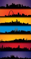 Skylines by kingnothing