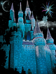Cinderella's Castle Christmas by WDWParksGal-Stock