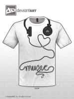 Love Music White by quintajo