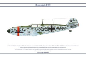 Bf-109-E3 Stab-JG53 by WS-Clave