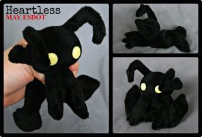 Heartless Kingdom Hearts Pocket Beanie Plush by MayEsdot