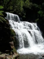 WaterFall Nature Stock 18 by Gracies-Stock
