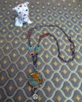 Tin Globe Assemblage Necklace by bugatha1