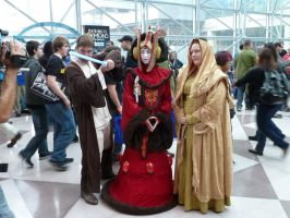Obi Wan Kenobi and Padme Amidala and consort by nx20