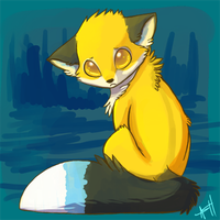 Sad fox is Sad by VengefulSpirits
