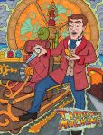 H.G.Wells Time Machine 1890's to 1980's by lagatowolfwood