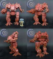 MWO Dragon 1/60 scale resin model (19.5cm) by smtkelly