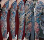 Roman Abrego inspired sleeve by graynd