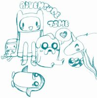 adventure time C: by miisabear
