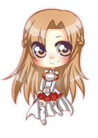 Prize for Anths95: Asuna by SashaVasileva
