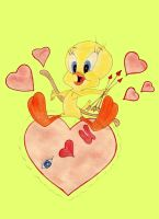 Tweety Says I love You by CandyQween