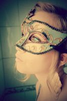 let's hide - venetian mask by pumpkin----soup