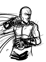 DSC 2013-08-20 One Punch Man by theEyZmaster