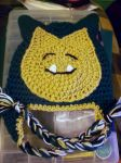 Snorlax Hat  by KnottyBoiCrochet