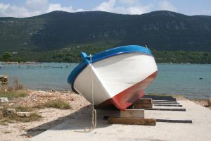 fishing boat by two-ladies-stocks