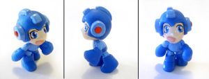 Megaman Small Figure by vrlovecats