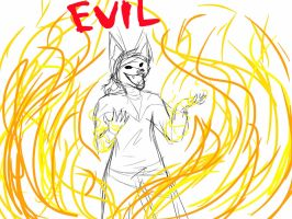 SoM AU   EVIL by w-olflover443