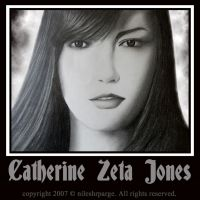 CATHERINE ZETA JONES by NEcrOMAnCERDEmON