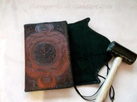 Cthulhu Journal flap open by Ihaveprobs