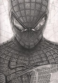 'Spiderman' WIP nearly complete by Pen-Tacular-Artist
