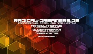 Radical-Dreamers... Business Cards [B-Alternative] by TodesBrot
