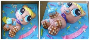 Littlest Pet Shop cake by Cakerific