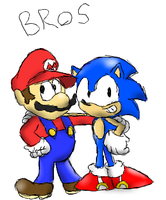 Bros by PoisonLuigi