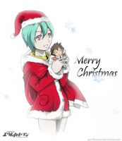 Eureka 7 - Holiday Greeting by geoffHeaven