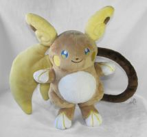 Alolan Raichu - Lighter Color by HollyIvyDesigns