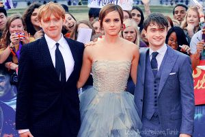 Rupert, Emma and Daniel by LoonyAvadaKedavra