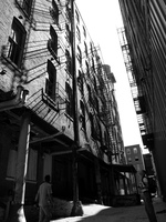 West Bottoms - Grating BnW by Debellos