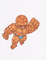 BEN GRIMM. THE THING by hclix