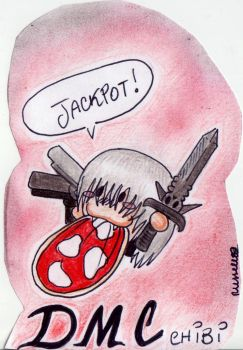 Chibi Dante :3 by Russell81