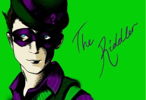 The Riddler by Nyahm