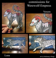 commishs for Werewolf-Empress by thelunacy-fringe