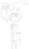 Sora as a Vikeing by TheBurtontickler13