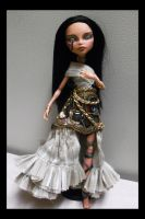 OOAK Monster High Cleo de Nile Egyptian Queen full by mourningwake-press