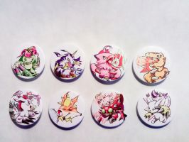 Digimon Adventure Badges-Complete by Fly-Sky-High