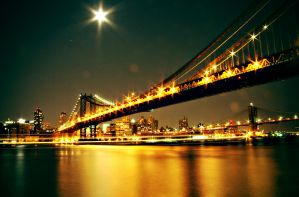 Manhatten Bridge by vladis123