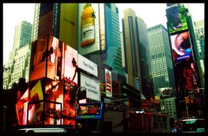 NYC Times Square by ShanghaiBoo