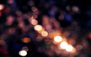 Bokeh wallpaper by vanerich